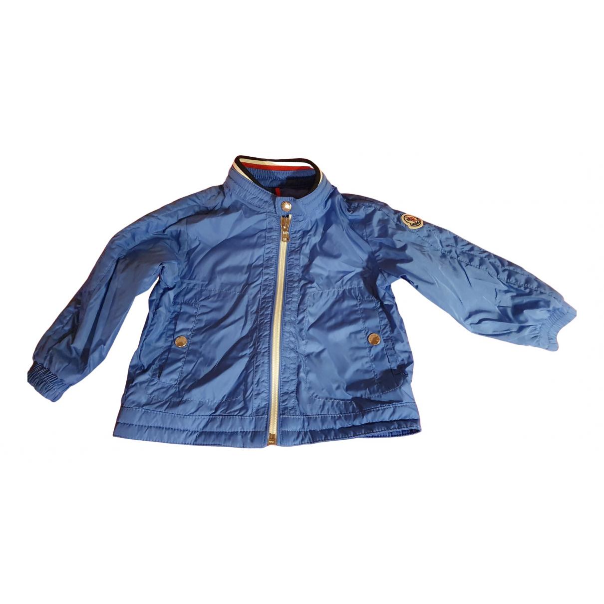 Moncler - Blousons.Manteaux   pour enfant - turquoise