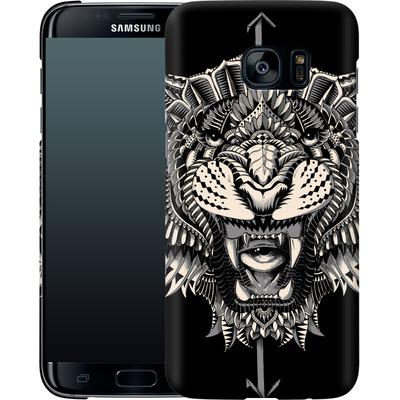 Samsung Galaxy S7 Edge Smartphone Huelle - Eye Of The Tiger von BIOWORKZ