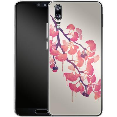Huawei P20 Silikon Handyhuelle - Ginko von Little Clyde