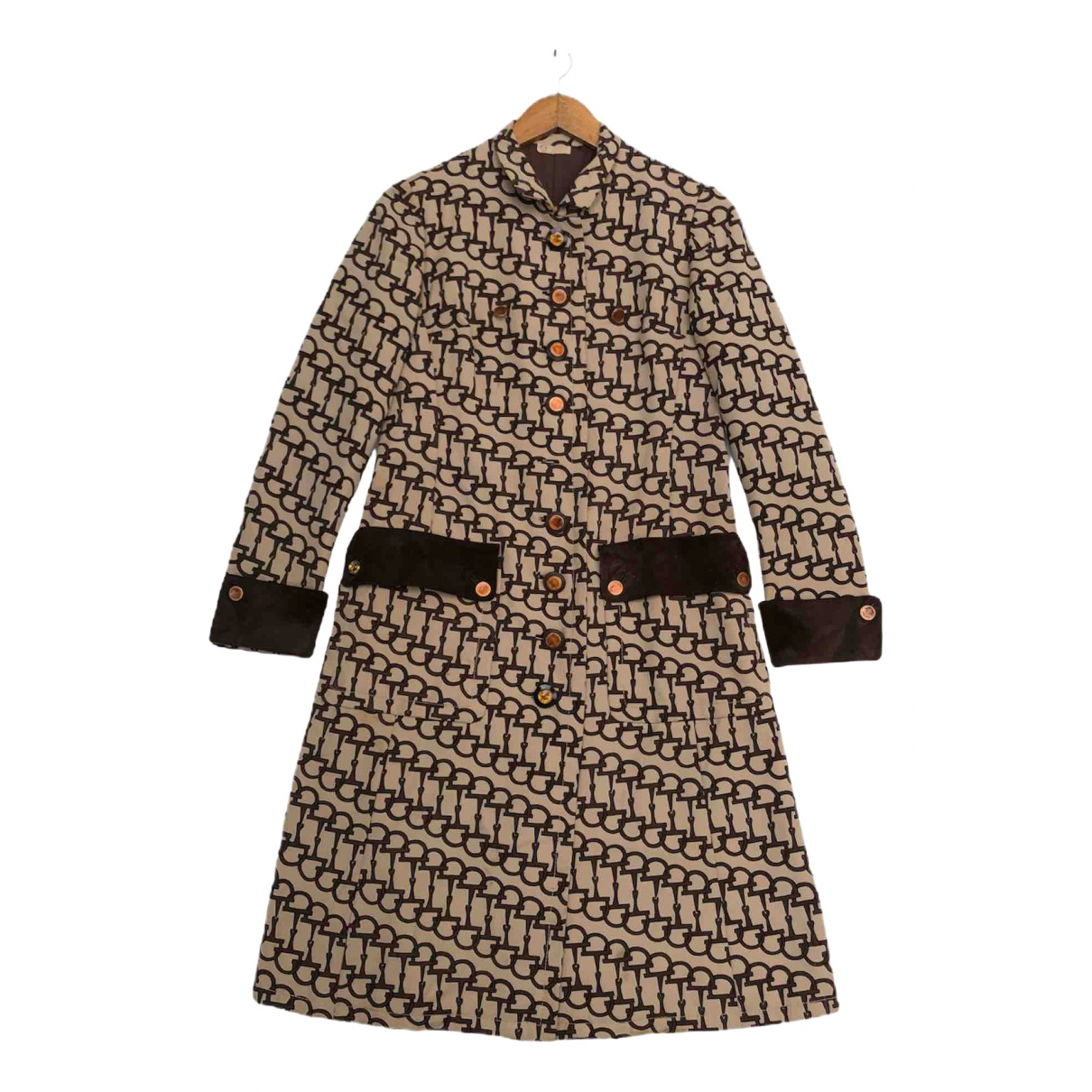 Gucci \N Trench in  Braun Wolle