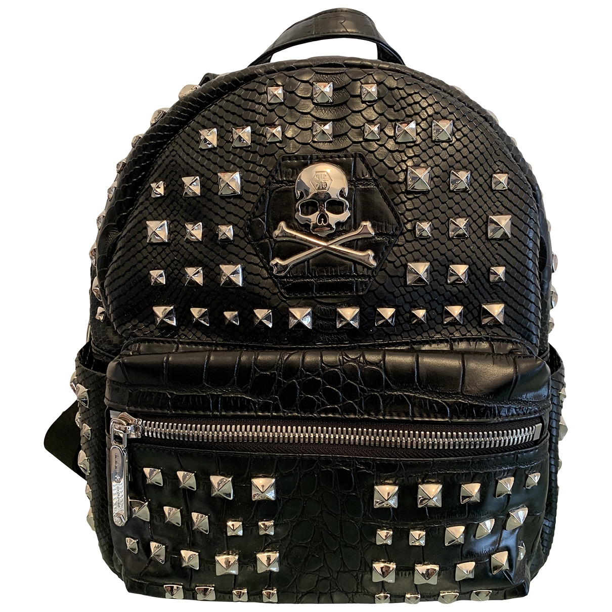 Philipp Plein \N Black Leather bag for Men \N
