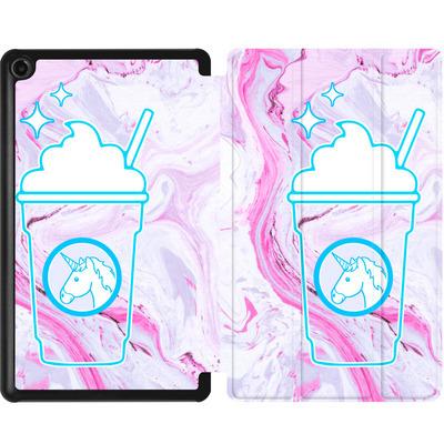 Amazon Fire 7 (2017) Tablet Smart Case - Unicorn Frappuccino von caseable Designs