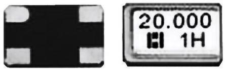 Hosonic 12MHz Crystal ±10ppm SMD 4-Pin 5 x 3.2 x 0.8mm (5)