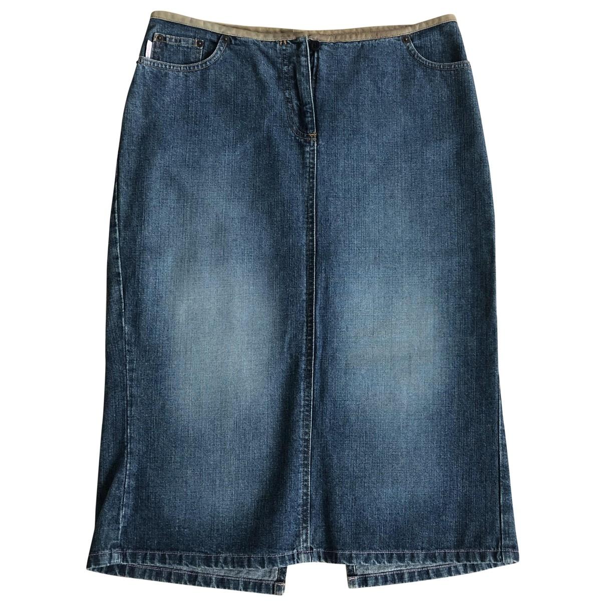 Paul Smith \N Rocke in  Blau Denim - Jeans