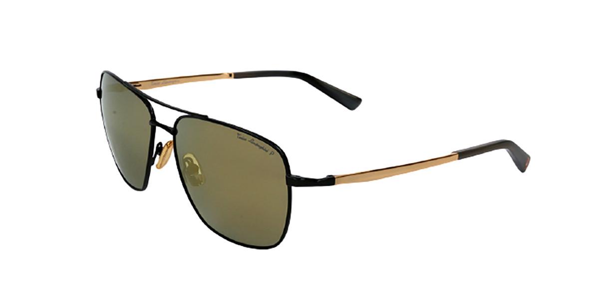 Tonino Lamborghini TL904S S03 Men's Sunglasses Black Size 57