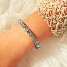 Rhinestone Bangle 1pc