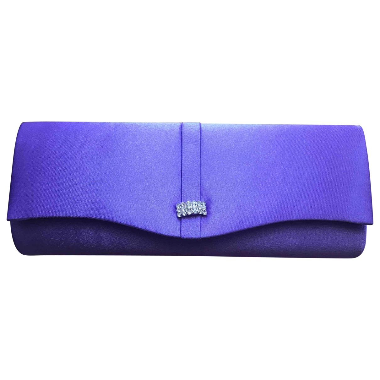 Non Signe / Unsigned \N Clutch in  Lila Synthetik