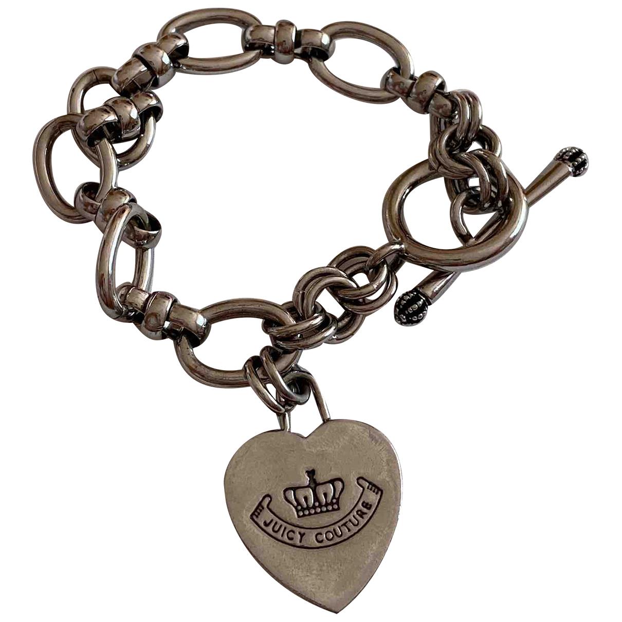 Juicy Couture - Bracelet   pour femme en metal - argente