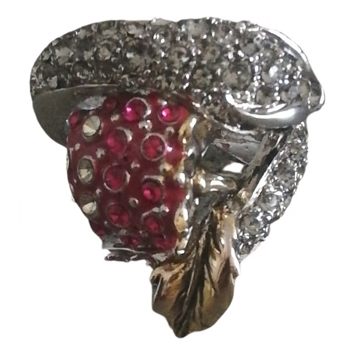Roberto Cavalli \N Ring in  Silber Metall
