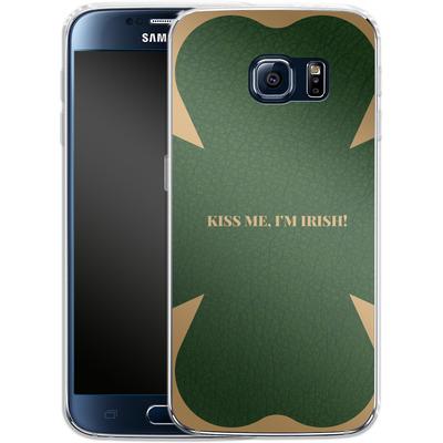 Samsung Galaxy S6 Silikon Handyhuelle - Irish von caseable Designs