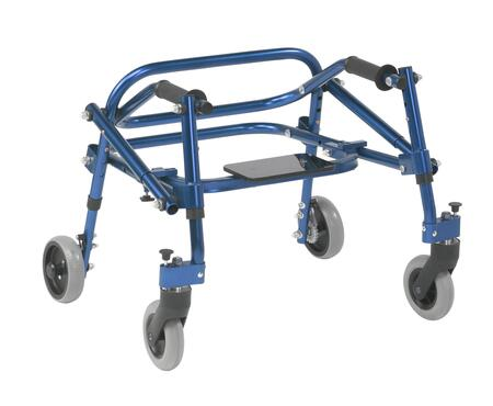 KA1200S-2GKB Nimbo 2G Lightweight Posterior Walker with Seat  Extra Small  Knight