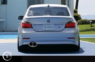 Vertex VERTICE-E60-RH Vertice Rear Lip BMW E60 5 Series 04-07