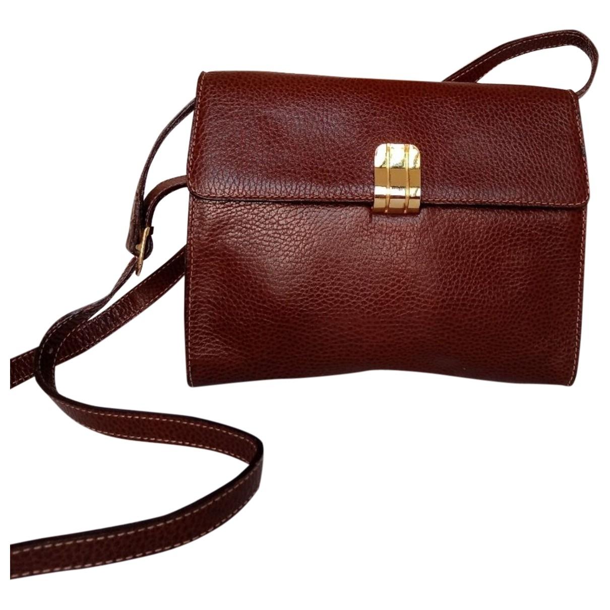 Emanuel Ungaro \N Brown Leather handbag for Women \N