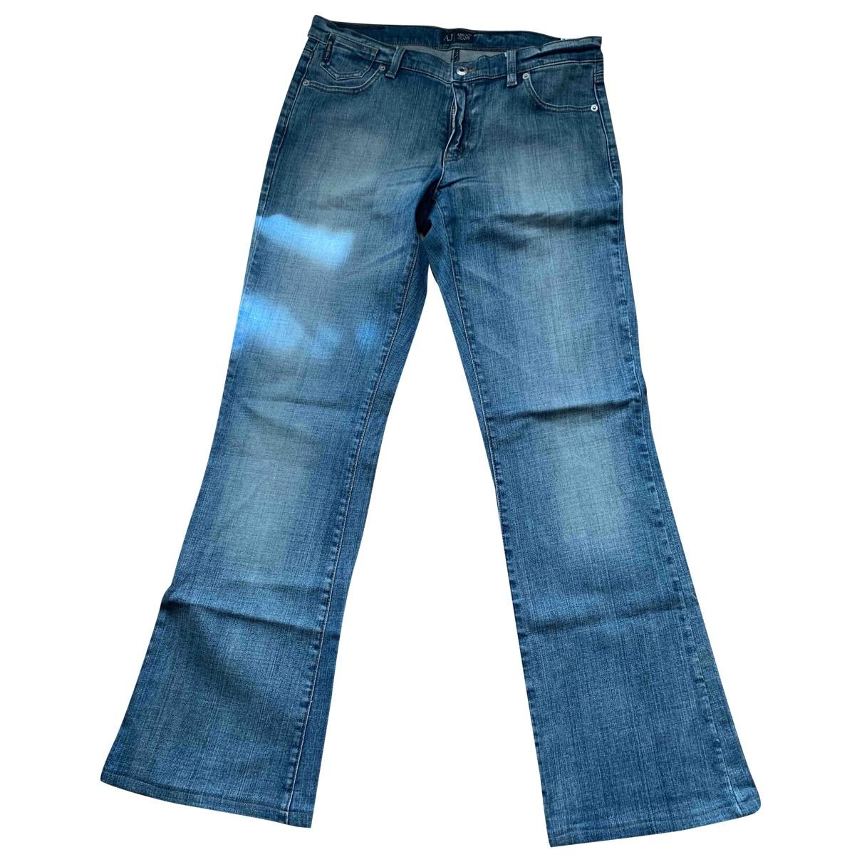 Armani Jeans \N Blue Denim - Jeans Jeans for Women 31 US