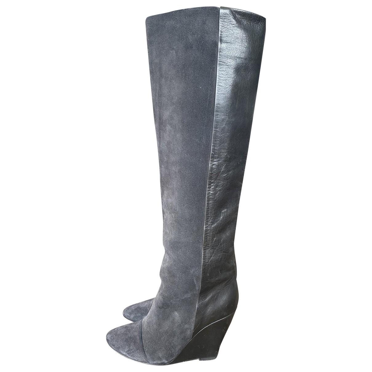 Isabel Marant \N Stiefel in  Grau Leder