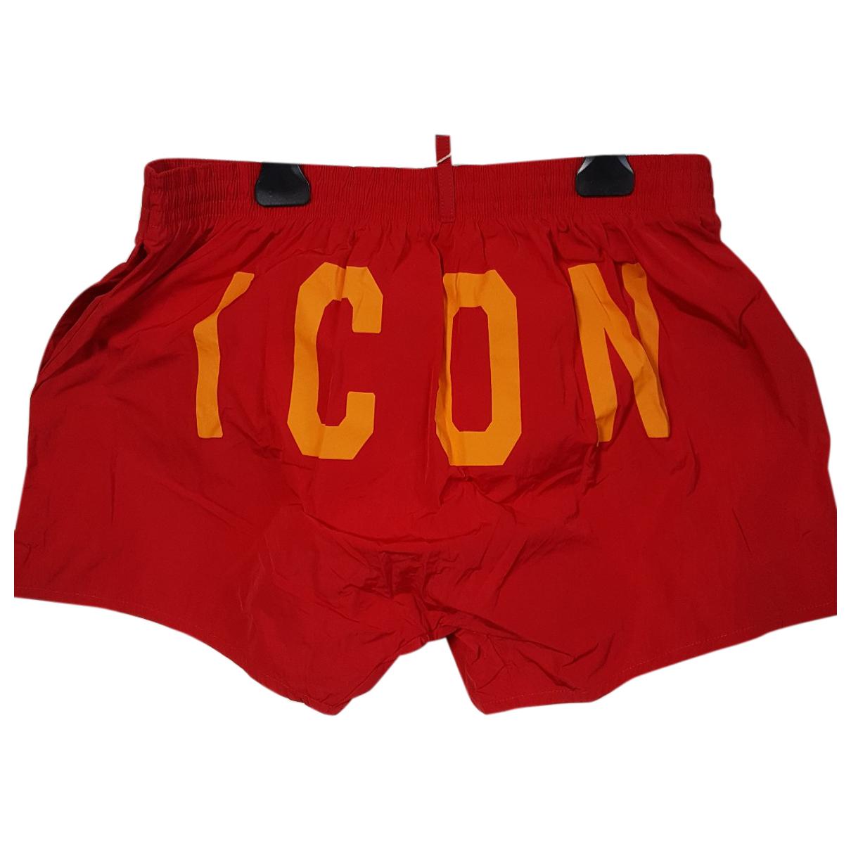 Dsquared2 N Red Swimwear for Men L International