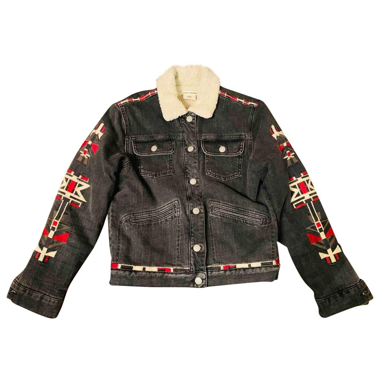 Isabel Marant Pour H&m \N Grey Denim - Jeans jacket for Women S International