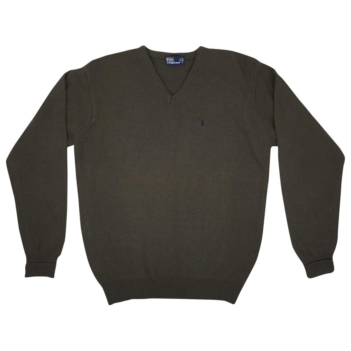 Polo Ralph Lauren \N Pullover.Westen.Sweatshirts  in  Khaki Wolle