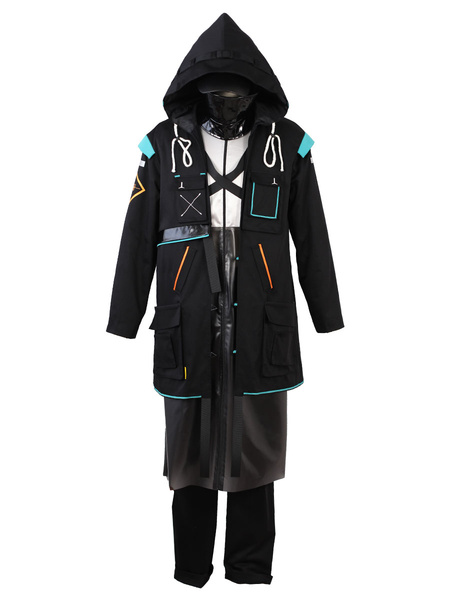 Milanoo Arknights Doctor Outfit Disfraz Cosplay Halloween