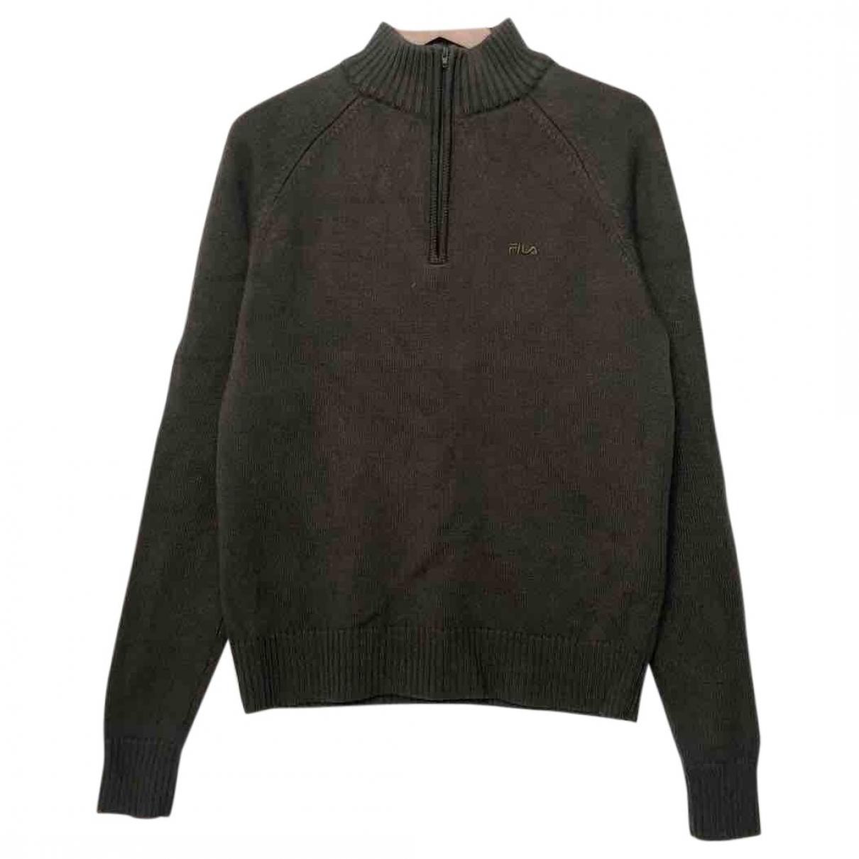 Fila \N Green Wool Knitwear for Women L International