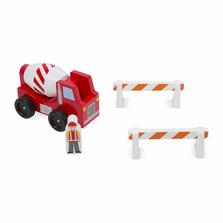 Melissa & Doug Construction Vehicle Set, One Size , Multiple Colors