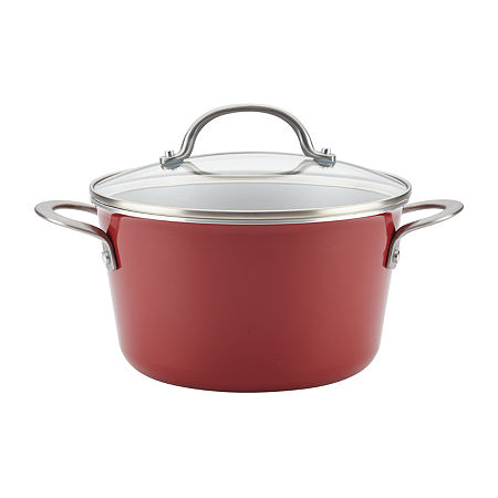 Ayesha Curry Home Collection 4.5-qt. Covered Sauce Pot, One Size , Red