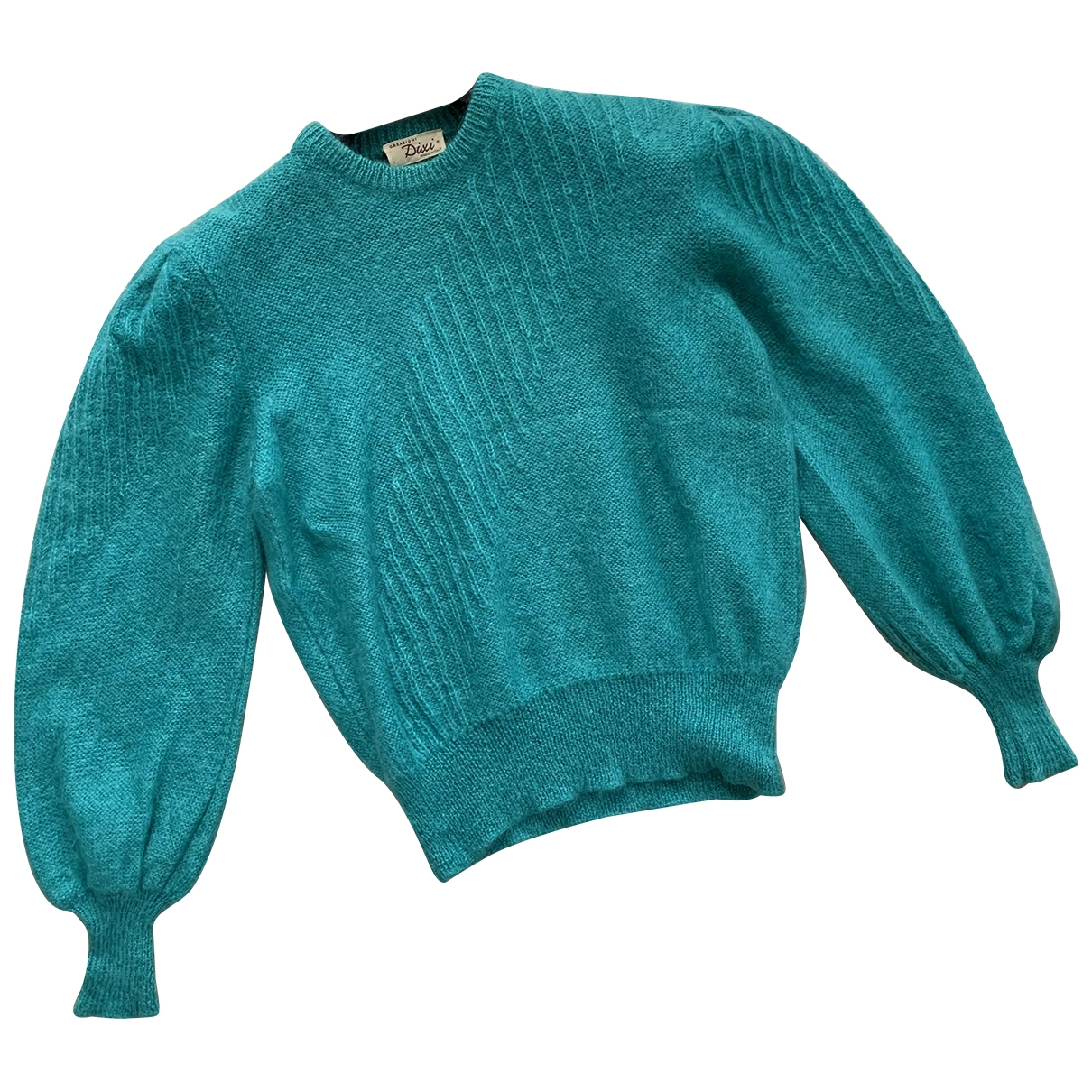 Non Signé / Unsigned Manche ballon Cashmere Knitwear for Women 48 IT
