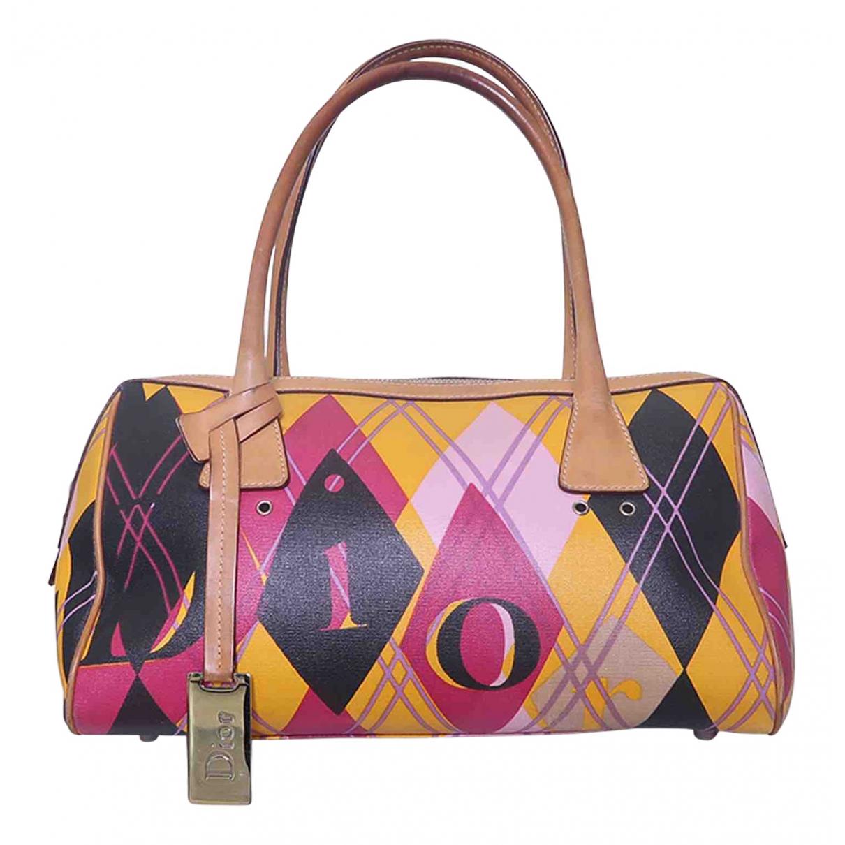 Dior \N Handtasche in  Bunt Leinen