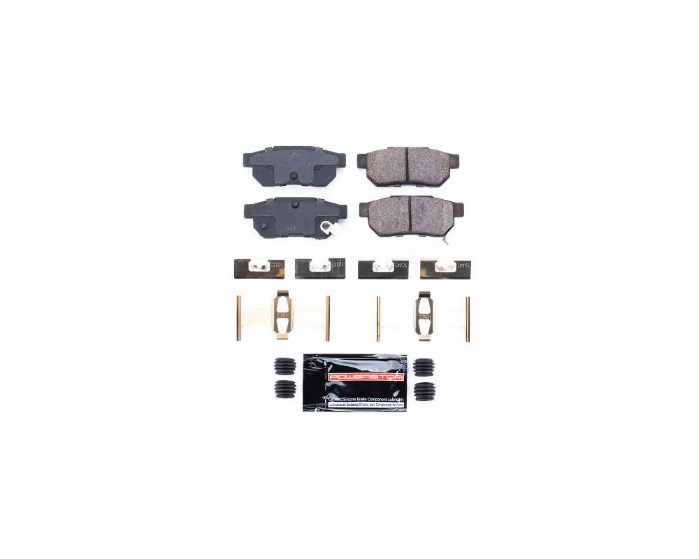 Power Stop Z23-374 Z23 Evolution Sport Brake Pads w/Hardware Rear Acura Integra 1986-2001