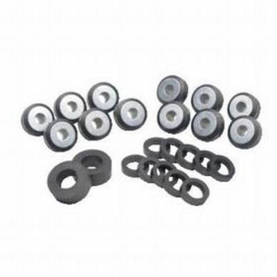 Crown Automotive Steel Body Mounting Kit (Black) - 52002723K