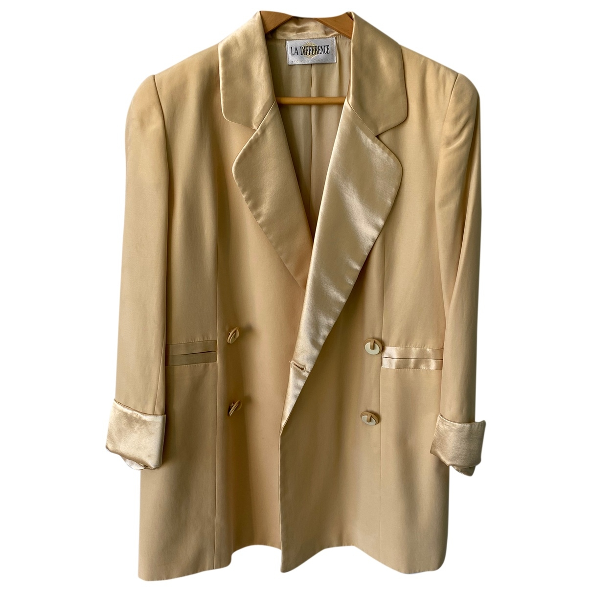 Non Signé / Unsigned \N Gold jacket for Women 44 IT