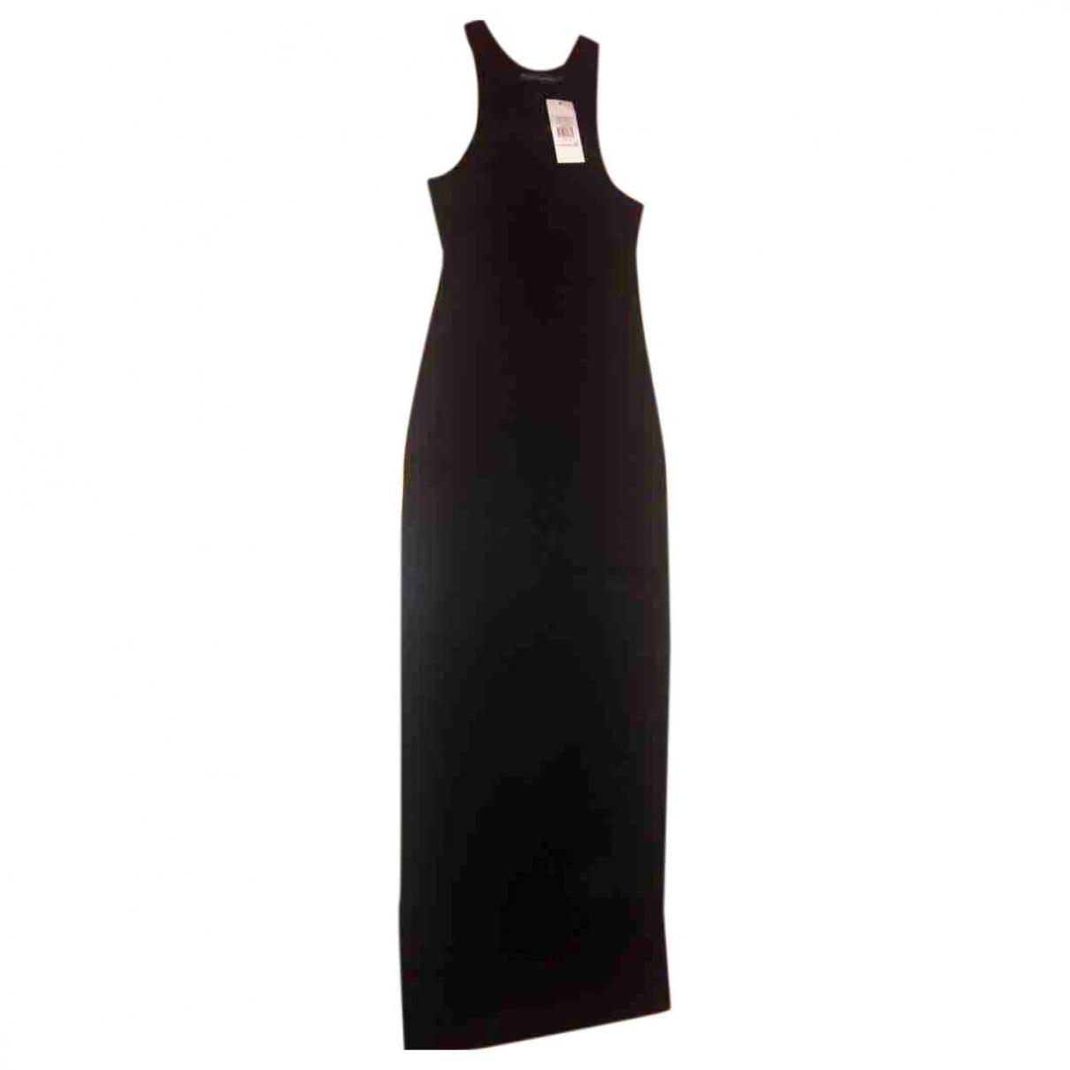 Ralph Lauren \N Kleid in  Schwarz Baumwolle
