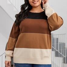 Jersey de color combinado