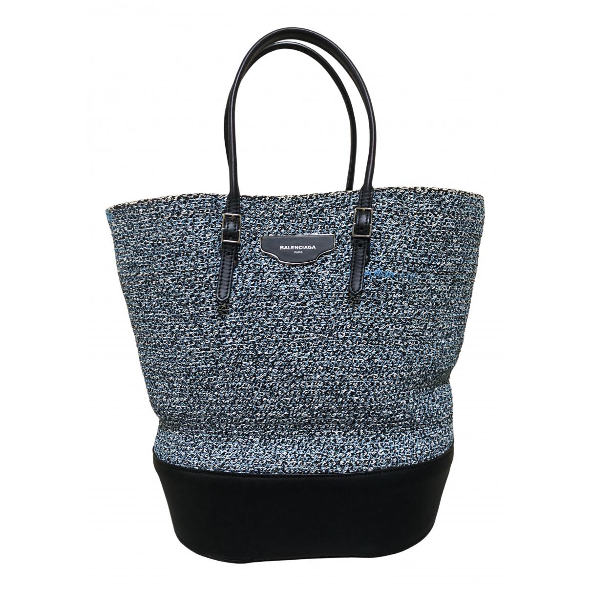 Balenciaga \N Blue Cotton handbag for Women \N