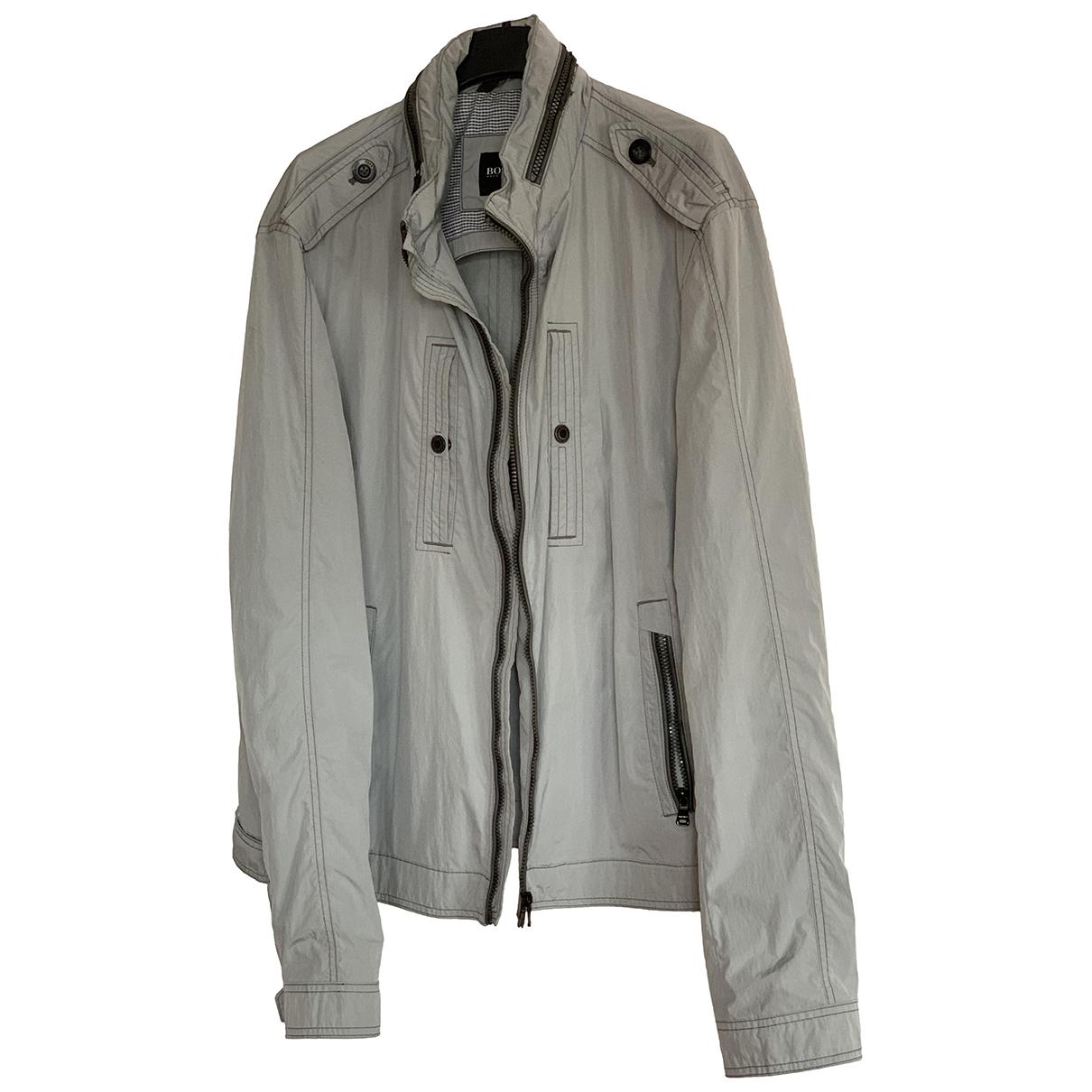 Boss \N Jacke in  Grau Polyester