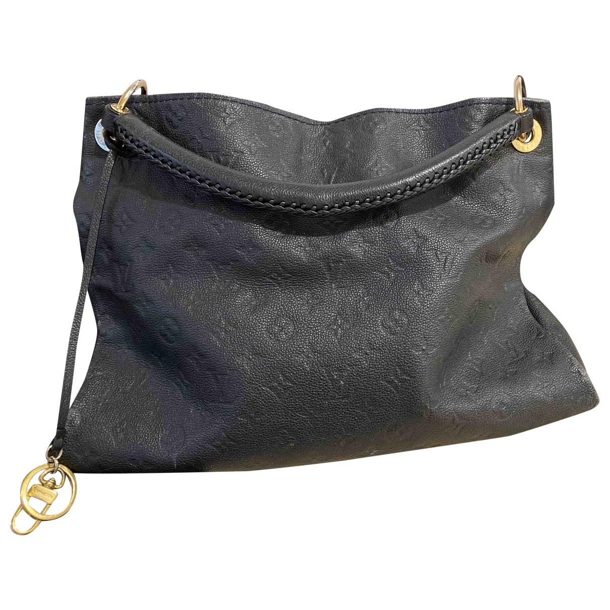 Louis Vuitton Artsy Handtasche in  Marine Leder