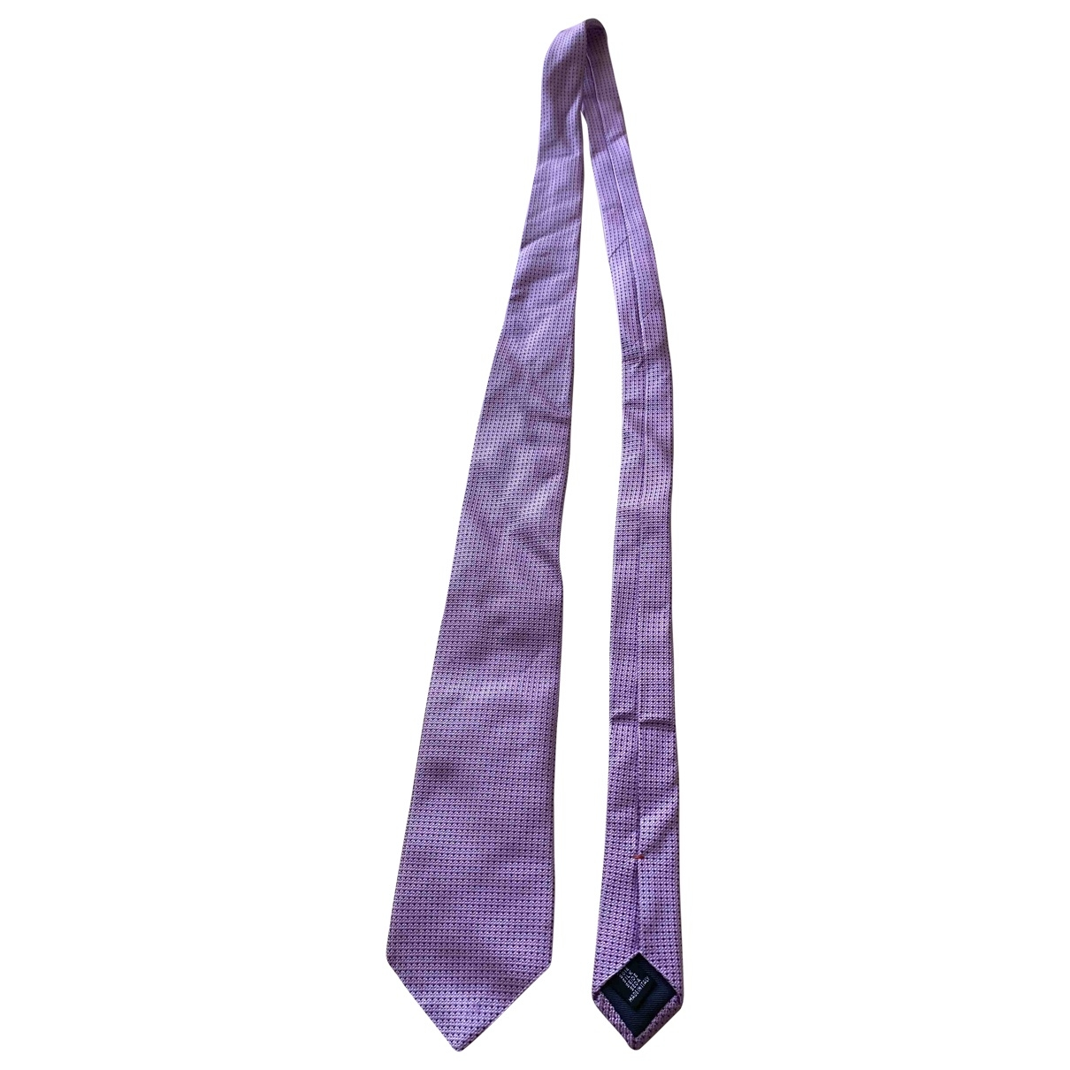 Moschino Love \N Pink Silk Ties for Men \N