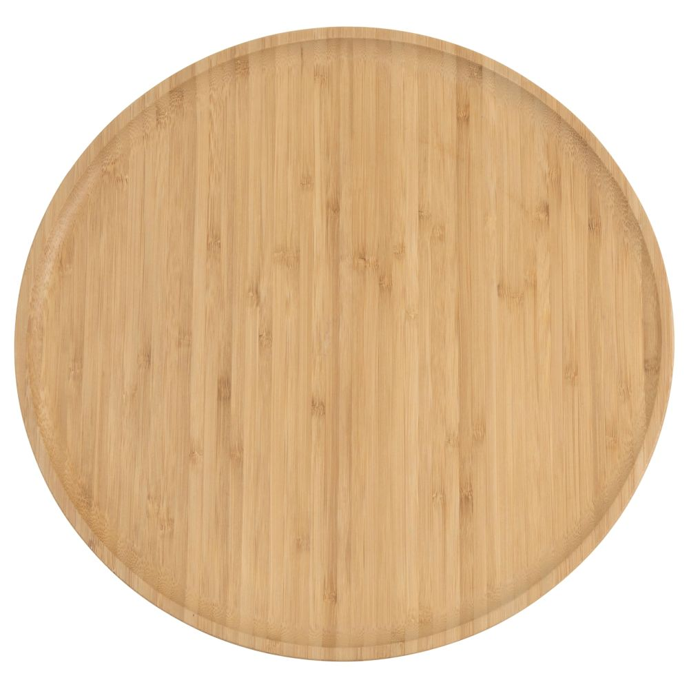Drehplatte aus Bambus