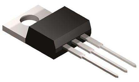 Microchip TC1264-3.3VAB, LDO Regulator, 800mA, 3.3 V, ±0.5% 3-Pin, TO-220 (5)