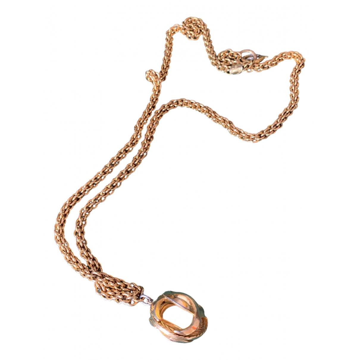 Chanel CC Halskette in  Gold Gelbgold