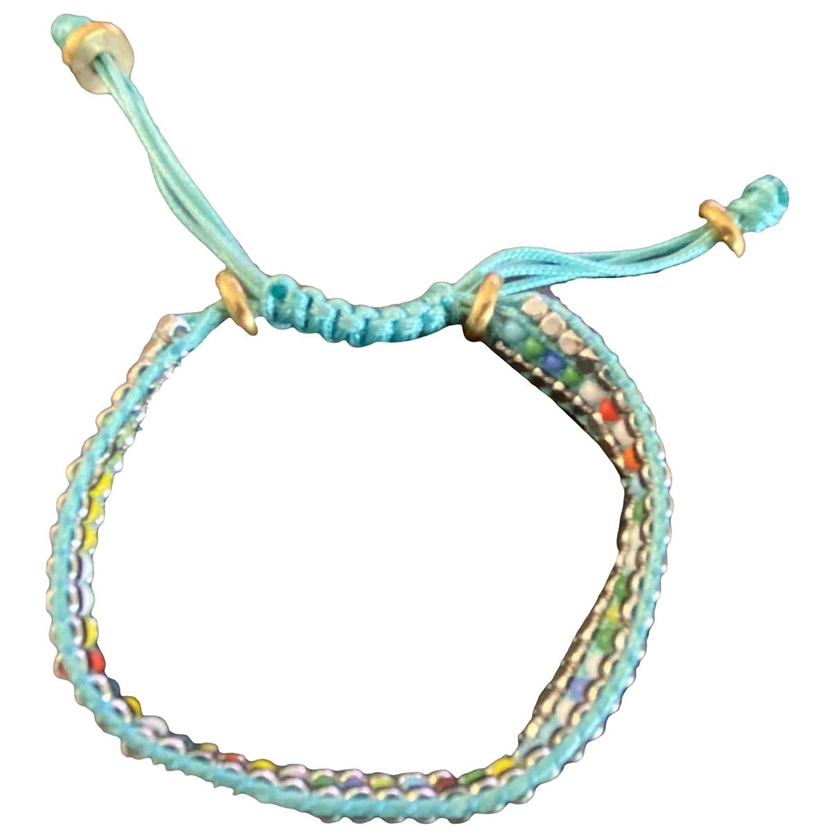 - Bracelet Motifs Ethniques pour femme en metal - turquoise