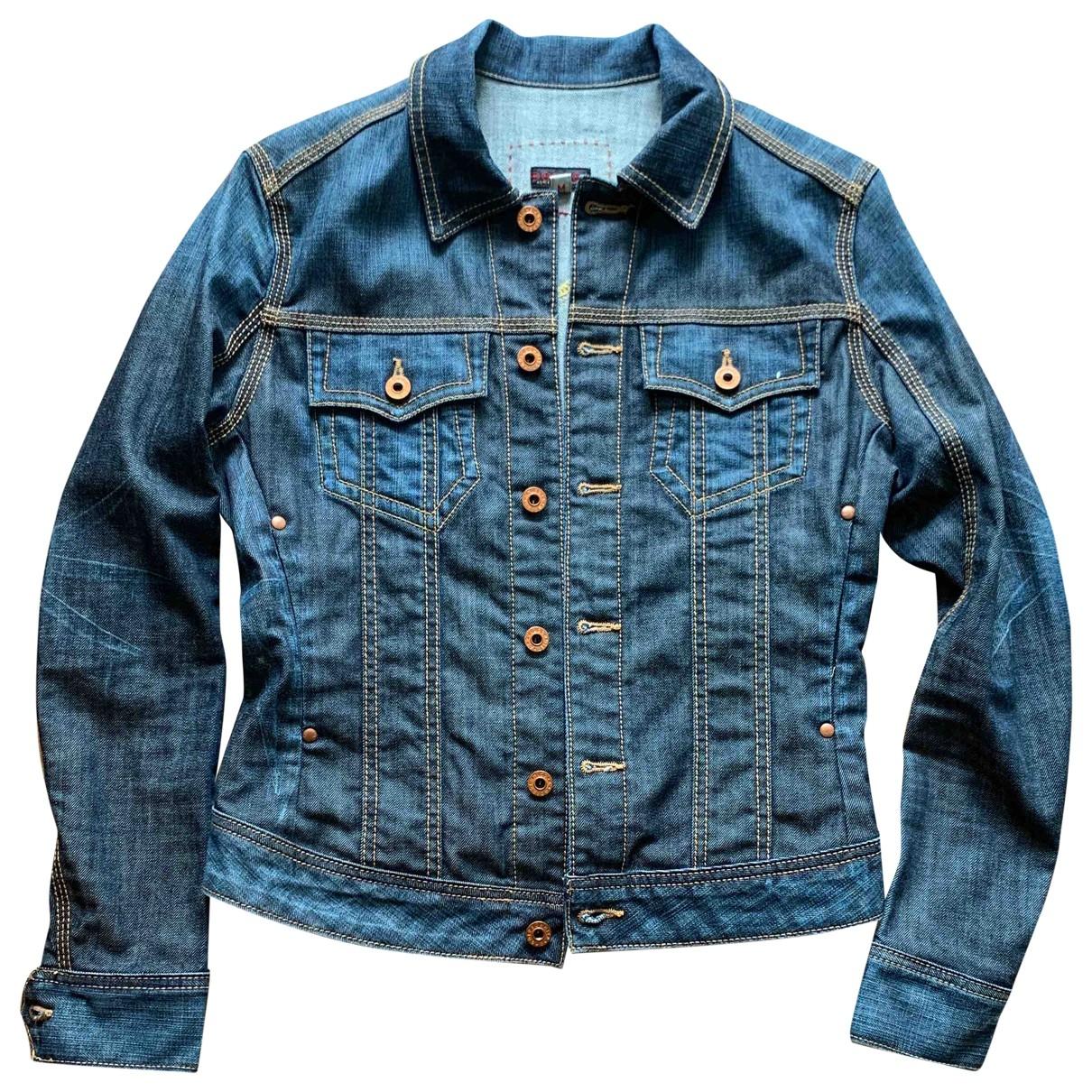 Adriano Goldschmied \N Blue Denim - Jeans jacket for Women M International