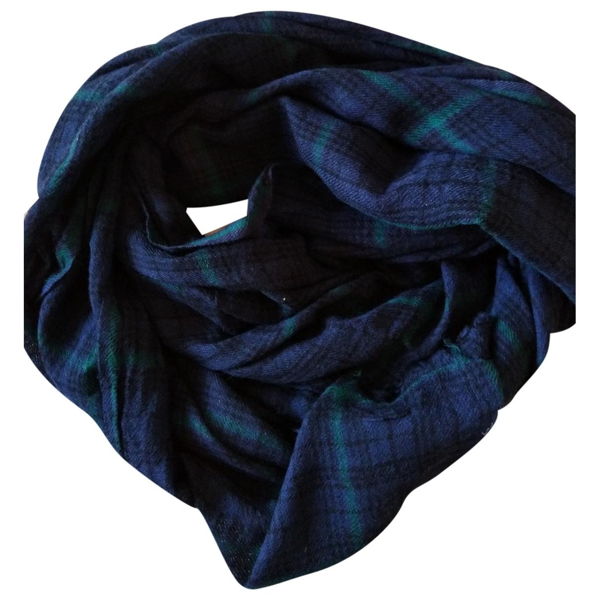 Beck Sonder Gaard \N Blue Wool scarf for Women \N