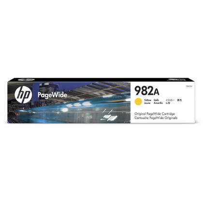 HP 982A T0B25A Original Yellow PageWide Ink Cartridge