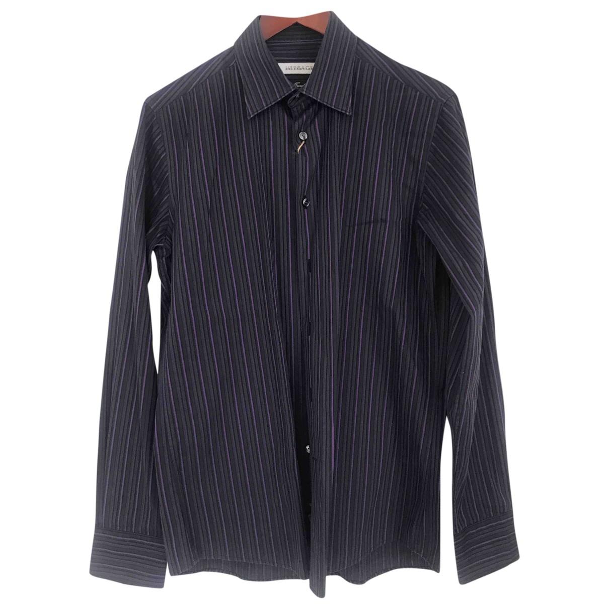 Versace \N Hemden in  Lila Baumwolle