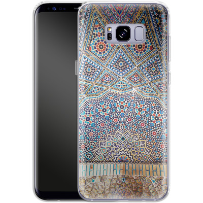 Samsung Galaxy S8 Plus Silikon Handyhuelle - Iranian Mosaic von Omid Scheybani