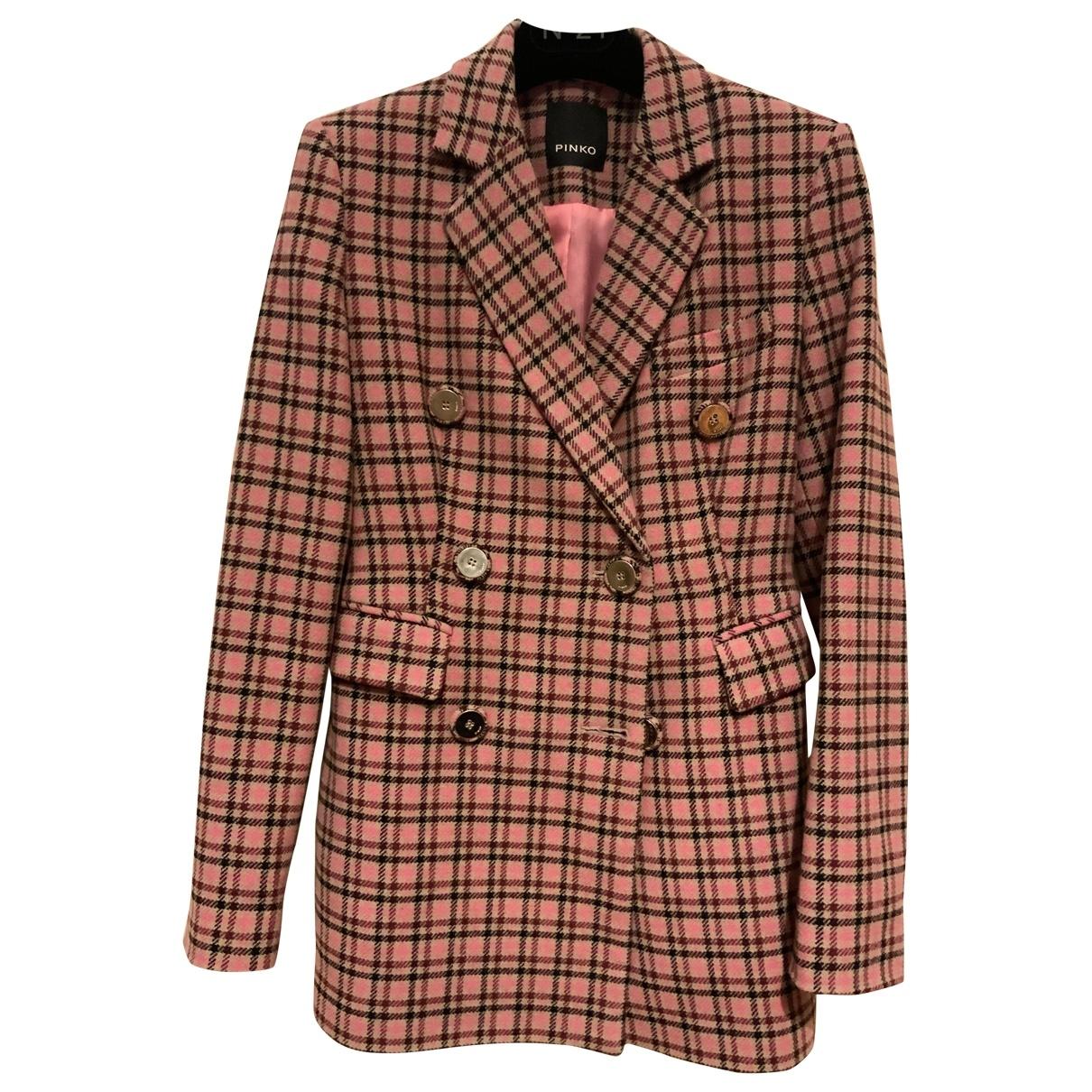Pinko \N Wool jacket for Women 40 IT