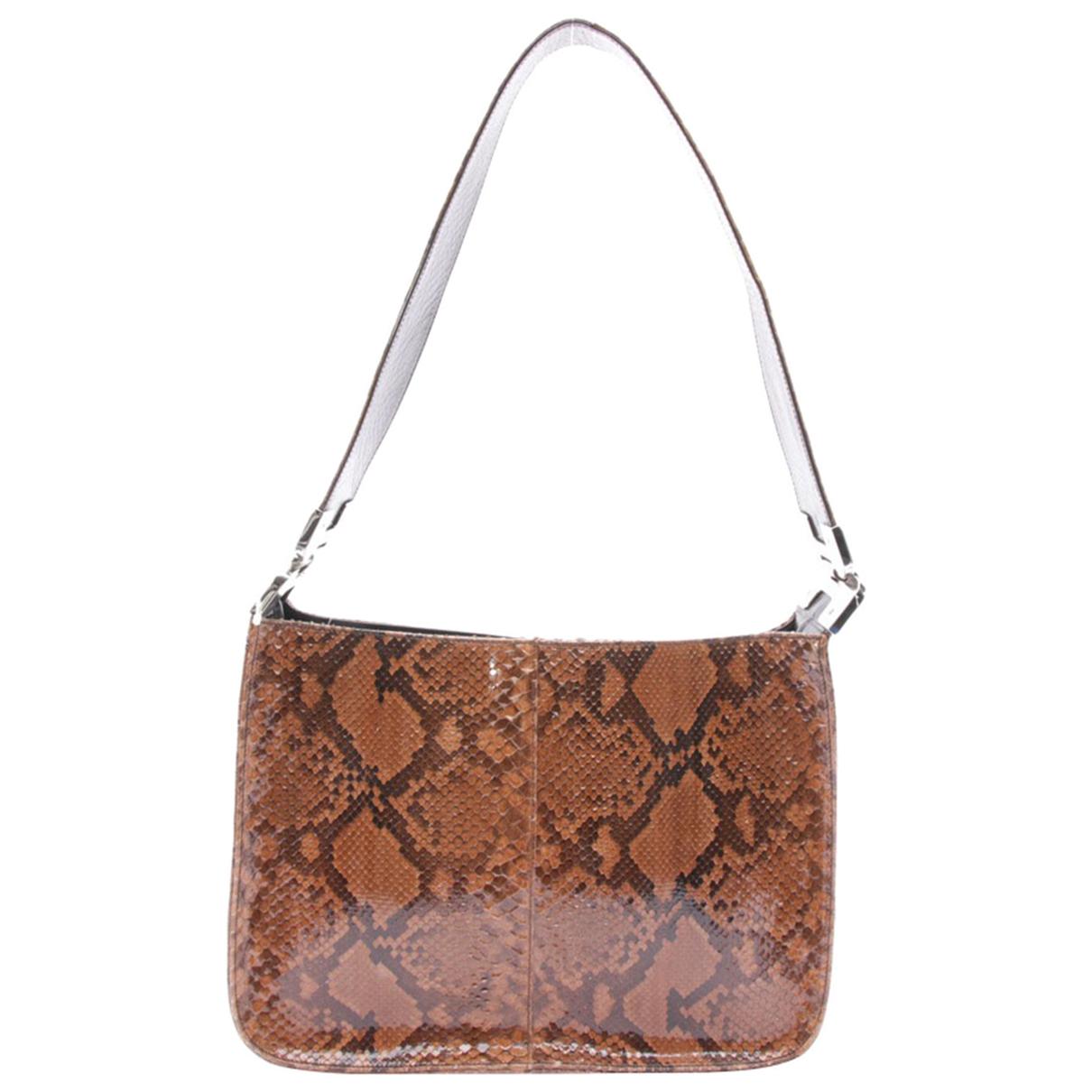 Prada \N Beige Leather handbag for Women \N