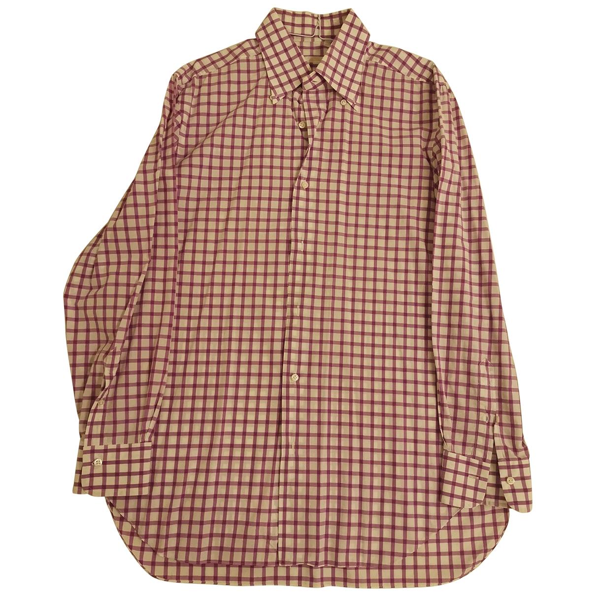 Barba - Chemises   pour homme en coton - violet