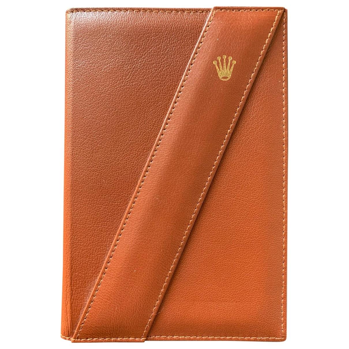 Rolex - Objets & Deco   pour lifestyle en cuir - marron